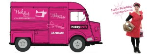 The Pink Sewing Bus at Hobbycraft Reading @ Hobbycraft Reading | Reading | United Kingdom