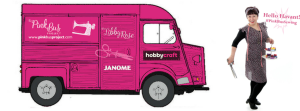 The Pink Sewing Bus at Hobbycraft Woking @ Hobbycraft Woking | Woking | England | United Kingdom