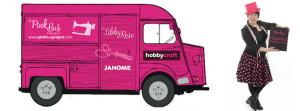 Sewing Classes on the Pink Bus at Hobbycraft Crawley @ Hobbycraft Crawley  | Crawley | United Kingdom
