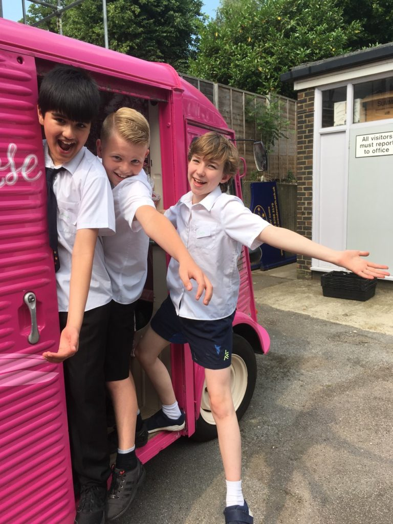 Creative Careers, Inspiring Kids & a new record for the Pink Sewing Bus!