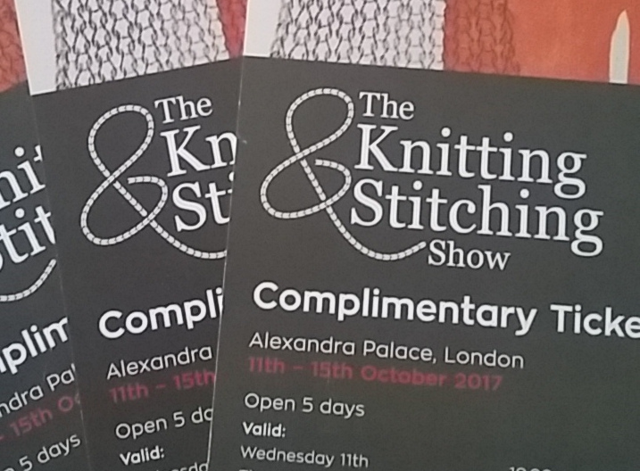 WIN Tickets to the Knitting and Stitching Show: Ally Pally