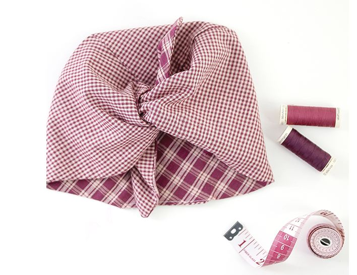 Let's sew a 1940's style Landgirl headscarf